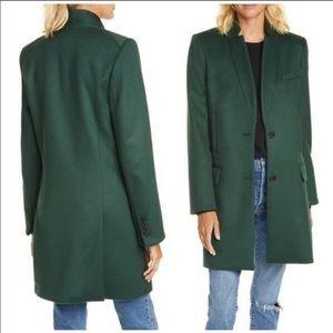 New! Veronica Beard Wool Car Coat